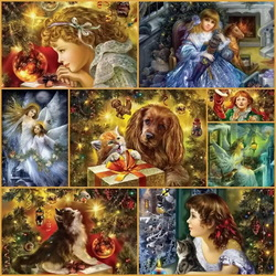 Jigsaw puzzle: New year collage