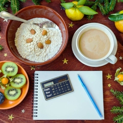 Jigsaw puzzle: New Year's breakfast