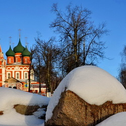 Jigsaw puzzle: Winter has come to Yaroslavl