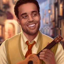 Jigsaw puzzle: Michael Ealy as Prince Naveen