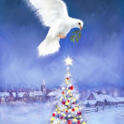 Jigsaw puzzle: Dove of peace