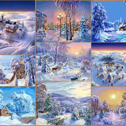 Jigsaw puzzle: Fabulous winter