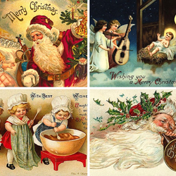Jigsaw puzzle: Christmas cards