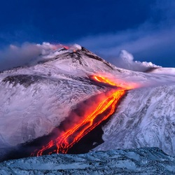 Jigsaw puzzle: Eruption of Etna