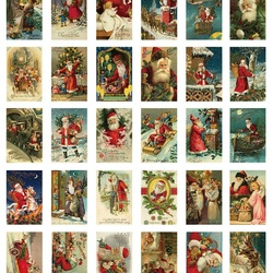 Jigsaw puzzle: Collection of new year cards