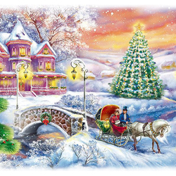 Jigsaw puzzle: Winter has come