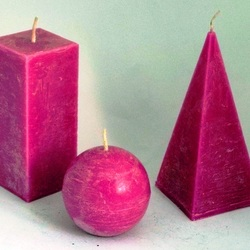Jigsaw puzzle: Burgundy candles