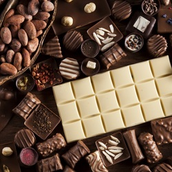 Jigsaw puzzle: Chocolate