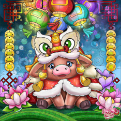 Jigsaw puzzle: New year luck
