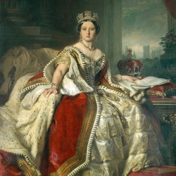 Jigsaw puzzle: Portrait of Queen Victoria