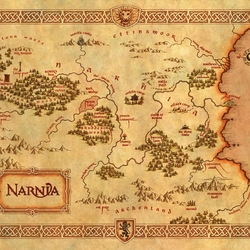 Jigsaw puzzle: Narnia Map