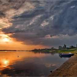 Jigsaw puzzle: On the banks of the Volga