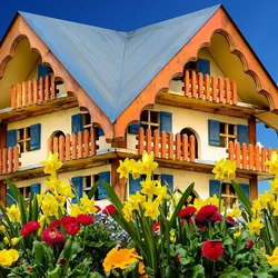 Jigsaw puzzle: Small house