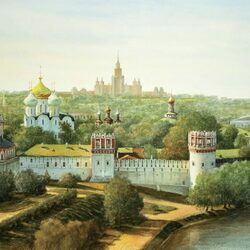 Jigsaw puzzle: Novodevichy Convent