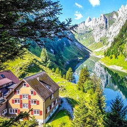Jigsaw puzzle: Switzerland