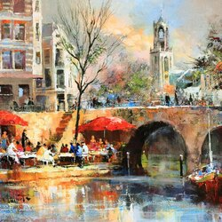 Jigsaw puzzle: City of Utrecht