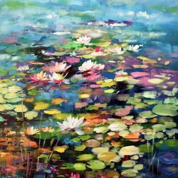 Jigsaw puzzle: Water lily