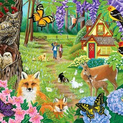 Jigsaw puzzle: The joy of spring