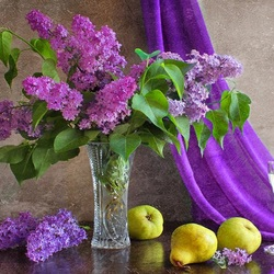 Jigsaw puzzle: Lilac