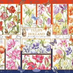 Jigsaw puzzle: Holland tulips