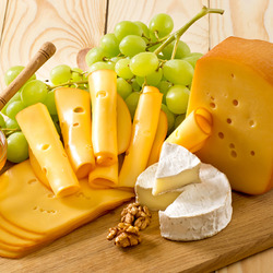 Jigsaw puzzle: Cheese and honey
