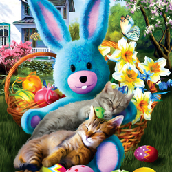 Jigsaw puzzle: Easter