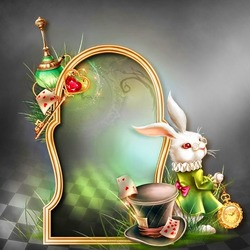Jigsaw puzzle: White Rabbit