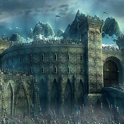 Jigsaw puzzle: Storming the fortress of Helm's Deep