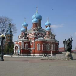Jigsaw puzzle: Holy Resurrection Cathedral in Borisov