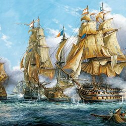 Jigsaw puzzle: Naval battle