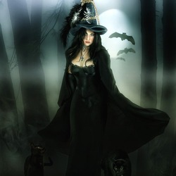 Jigsaw puzzle: Witch