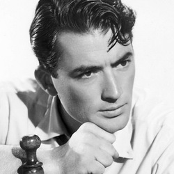 Jigsaw puzzle: Bygone Hollywood Era by Gregory Peck