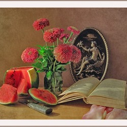Jigsaw puzzle: Still life with cameo