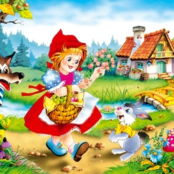 Jigsaw puzzle: Little Red Riding Hood