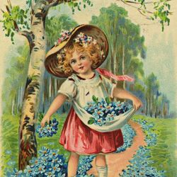 Jigsaw puzzle: Adorable forget-me-nots