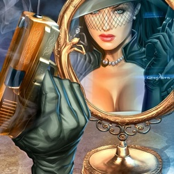 Jigsaw puzzle: Mistress Mirage