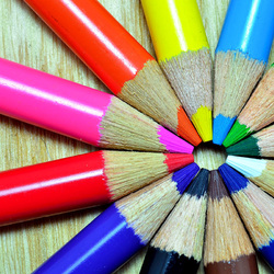 Jigsaw puzzle: Pencils