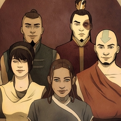 Jigsaw puzzle: Avatar Team
