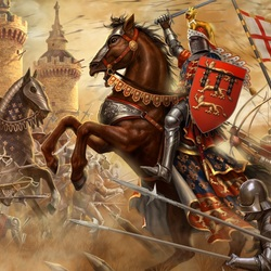 Jigsaw puzzle: Knights