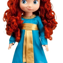 Jigsaw puzzle: Merida doll