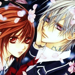 Jigsaw puzzle: Zero and Yuki