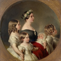 Jigsaw puzzle: Queen Victoria with children
