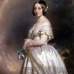 Jigsaw puzzle: Young Queen Victoria