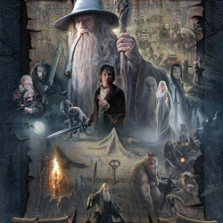 Jigsaw puzzle: The hobbit