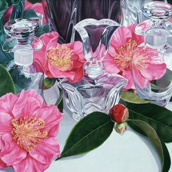 Jigsaw puzzle: Camellias