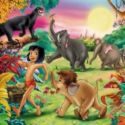 Jigsaw puzzle: The jungle book