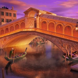 Jigsaw puzzle: Venetian canal