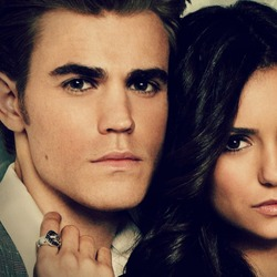 Jigsaw puzzle: Paul Wesley and Nina Dobrev