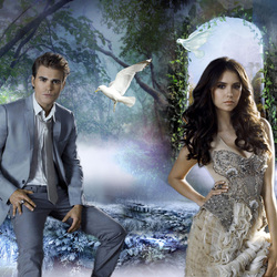 Jigsaw puzzle: Stefan and Elena
