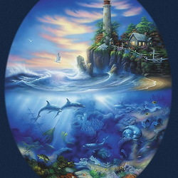 Jigsaw puzzle: Lighthouse